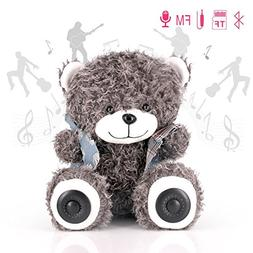 Stuffed Teddy Bears Toy with Bluetooth Speaker for Phones, M