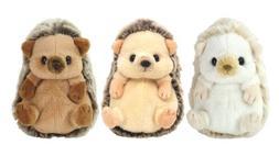 Sunlemon Fluffy's stuffed S Hedgehog Plush Set of 3 Beige Br