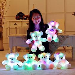 "15"" Super Cute Teddy Bear Little Stuffed Toys, Sparkling Lig"