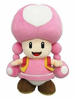 "Sanei Super Mario All Star Collection AC33 Toadette 7.5"" Plu"