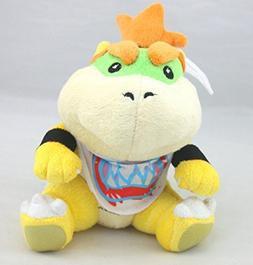 "Super Mario Bros 7"" Bowser Jr Koopa Stuffed Animals Plush Do"