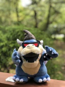 Super Mario Bros Character Plush Toy Dark Bowser Koopa Stuff