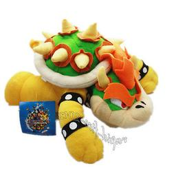 Super Mario Bros King Bowser Koopa Plush Stuffed Doll Toy 10