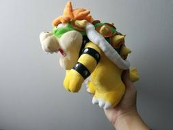 Super Mario Bros King Bowser Koopa Plush Toy Stuffed Animal