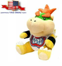 Super Mario Bros Koopa Bowser Jr TV Series Plush Toy Doll Gi