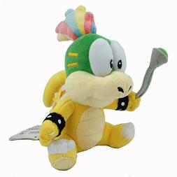 Super Mario Bros Lemmy Koopa Plush Toy Hip Koopalings Stuffe