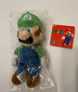 Super Mario Bros Luigi  mini Plush Doll Stuffed Animal Toy 6