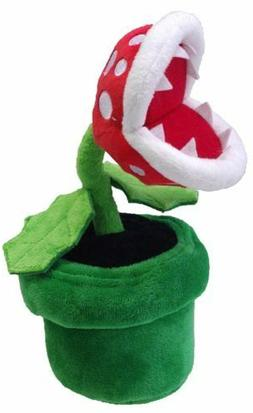 Super Mario Bros Piranha Plant Plush Doll Flower Figure Stuf