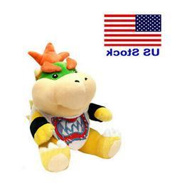 Super Mario Bros Plush Bowser Jr Baby Bowser Toy Stuffed Ani