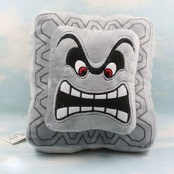 Super Mario Bros Plush Soft Toys Cushion Pillow Thwomp Dossu