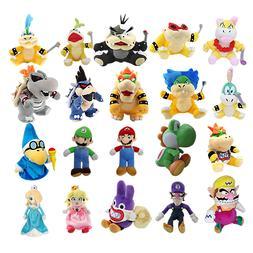 Super Mario Bros. Plush Toy Stuffed Doll Soft Animals Kids B