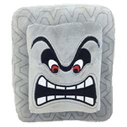 New Super Mario Bros Thwomp Dossun Cinder Block Plush Toy So