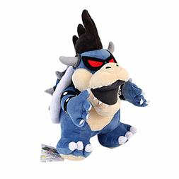 Super Mario Bros. Toys Animals Dark Koopa Bowser Stuffed Plu