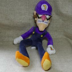 Nintendo Super Mario Bros. Waluigi 8 inch tall  Plush Doll T