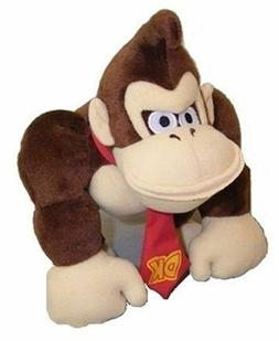 Super Mario Brothers Donkey Kong Plush Figure Toy Stuffed To
