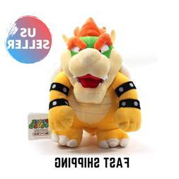 Super Mario Bowser Plush Toy Stuffed Animal 10in