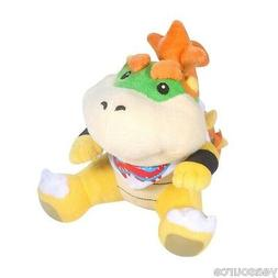 Sanei Super Mario Series 7 inch Bowser Koopa Jr. Plush Toy P