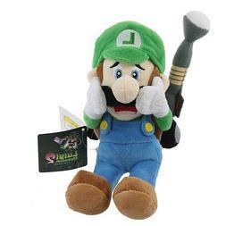 Sanei Super Mario Series 10inch Luigi's Mansion Plush Doll L