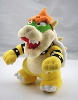 "Super Mario 10"" Standing King Bowser Koopa Plush Toy Nintend"