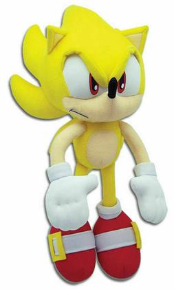 Super Sonic The Hedgehog Tails Plush Doll Stuffed Animal Fig
