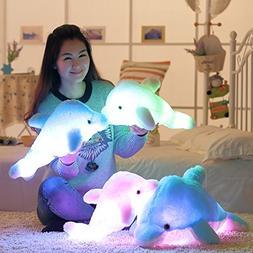 "18"" Super Cute Sea Animal Little Stuffed Toys, Sparkling Dol"