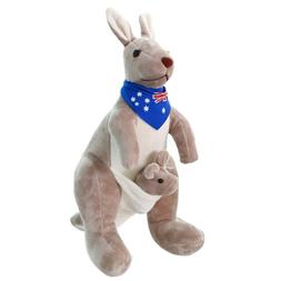 Sweet Kangaroo <font><b>Stuffed</b></font> <font><b>Animal</