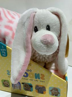 Little Miracles Sweet Snoodles Silky Blanket & Cozy Plush To