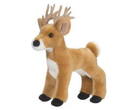 "Douglas Swift WHITE TAIL DEER 9"" Plush Buck Stuffed Animal C"