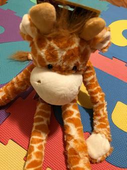 swingin safari giraffe large plush dog toy