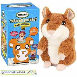 Talking GrownUp Toys Hamster Repeat What You Say Mimicry Pet