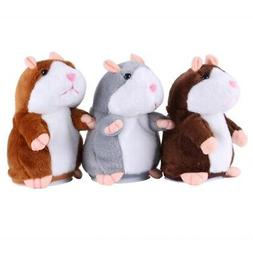 Talking Hamster Electronic Plush Toy Mouse Kid Pet Sound Sof