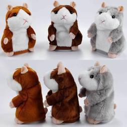 Talking Hamster Mouse Plush Toy Cute Talking Sound Record Ha