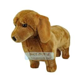 Bocchetta Plush Toys Tan Dachshund Sausage Dog 46cm Animal S
