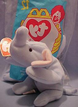 Ty Teanie Beanie Babies 12 Original Retired 1998 Peanut Elep