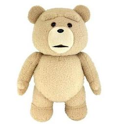 """TED 2""- TED 24 INCH R RATED TALKING PLUSH TEDDY BEAR- Commo"
