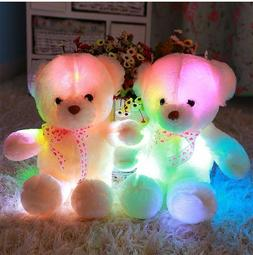 Teddy Bear Led Big Plush Toy Light Animal Colorful Stuffed G