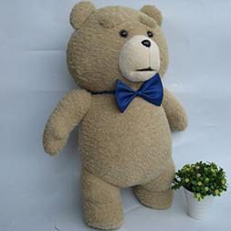 Teddy Bear Plush 45cm Bear Ted Blue Doll Stuffed Animals Fig