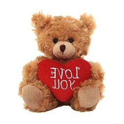 Teddy Bear with Love You Heart Pillow Plush Stuffed Animals