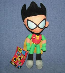 """Teen Titans Go! ~ 11"""" ROBIN PLUSH ~ 2017 by Toy Factory ~ NW"""