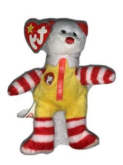 TY Teenie Beanie Babies Ronald McDonald the Bear 25 Years of