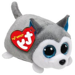 "TY Teeny Tys Prince Husky Beanie Babies 3"" Stuffed Plush Toy"