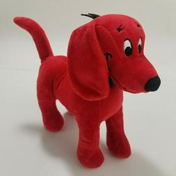 The Big Red Dog Plush Stuffed Animal Small toy Velvet Fabric