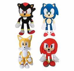 "Sonic The Hedgehog 11.5"" Tall Plush Soft Toys Knuckles,Moder"
