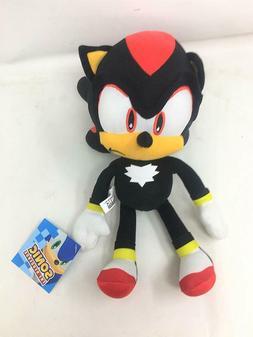 """Licensed Sonic the Hedgehog Black Shadow 8"""" Plush Stuffed Bo"""