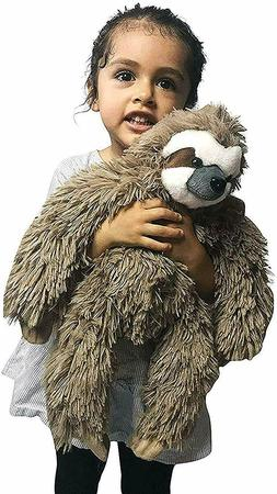Three Toed Sloth Stuffed Animal Plush Toy NEW