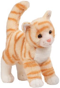 "Tiffy Orange Tabby Cat 10"" by Douglas Cuddle Toys"