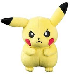 TOMY Pokémon Small Plush - Grumpy Pikachu