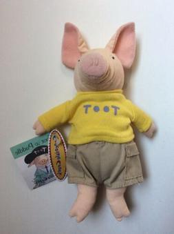"Toot  Plush Crocodile Creek 7-8"" Beanbag Stuffed Holly Hob"