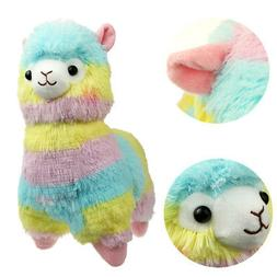 Toy Doll Rainbow Lovely Alpaca Llama Soft Touch Plush Childr