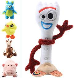 Toy Story 4 Plush Dolls Forky Ducky Horse Bunny Soft Stuffed
